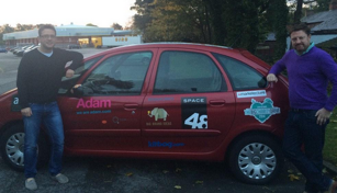 Adam Big Charity Drive Car 2014