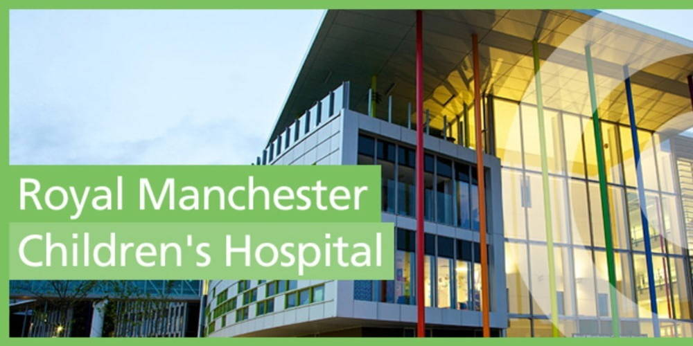 Royal Manchester Children's Hospital Big Charity Drive